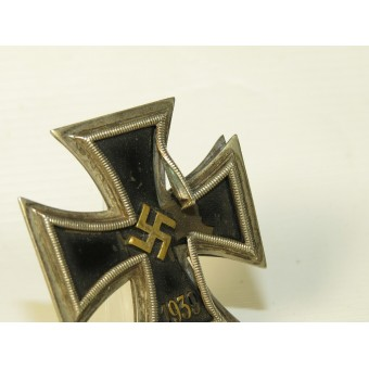 Iron cross first class 1939 with battle damage.