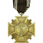 NSDAP Dienstauszeichnung - NSDAP Long Service Cross in bronze for 10 years of service