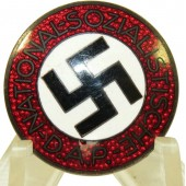 NSDAP nazy party member pin M1/3 RZM - Max Kremhelmer, München
