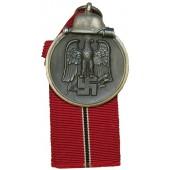 Otto Zappe Winterschlacht im Osten Medal. 110 marked ring