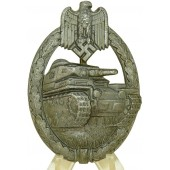 PAB - Panzerkampfabzeichen-Tank assault badge. Silver class