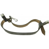 Wehrmacht Heer or Waffen SS black helmet carrying strap
