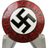 3rd Reich National Socialist Labor Party member badge, NSDAP, M1/ 72