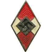 HJ member badge, late version, zinc, M1/93
