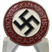 NSDAP breast badge, M1/34 RZM - Karl Wurster