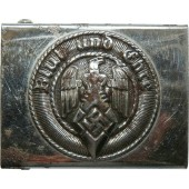 HJ buckle, marked  KH M 4/49 RZM - Adolf Baumeister-Lüdenscheid.