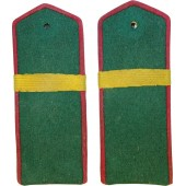 Shoulder boards M1943 for efreitor of NKVD Border troops.
