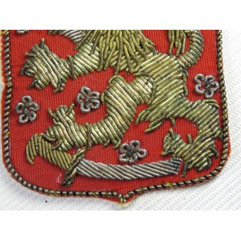 Sleeve shield of Finnish volunteer in the Waffen SS. First type. Espenlaub militaria
