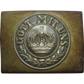 WW1 German soldier's buckle, brass