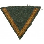 Sleeve chevron for Gefreiter of Kriegsmarine coastal artillery