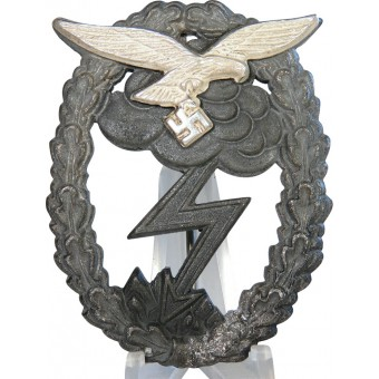 Luftwaffe ground assault badge - J.E.Hammer & Söhne. Espenlaub militaria