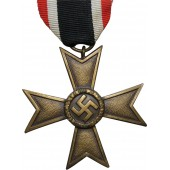 Unmarked KVK II class 1939 cross without swords. Bronze