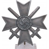 Unmarked zinc KVK I with swords cross