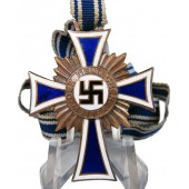 Third class Cross of German mother- Ehrenkreuz der Deutschen Mutter in Bronze