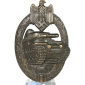 Fine condition PAB-Tank assault badge by Adolf Schwerdt