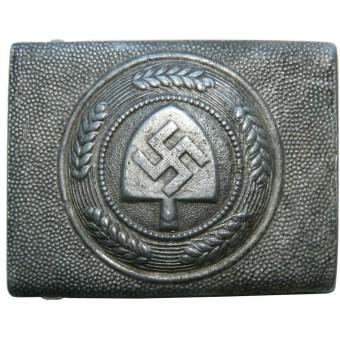 RAD aluminum buckle by Hermann Aurich 1938 year. Espenlaub militaria