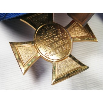 Medal bar for 3rd Reich police officials. Espenlaub militaria