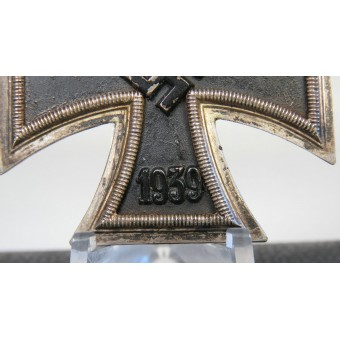 Boxed Iron cross 1st class by ADHP. Espenlaub militaria