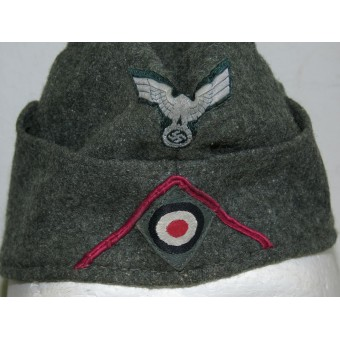 M 38 Wehrmacht Heer side hat for veterinary service/HQ or Nebelwerfer