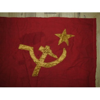 Soviet red banner circa early 20's years