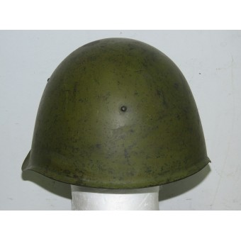 Ssch-39 Red Army helmet with frontal star dated 1939, size 2a, winter use. Espenlaub militaria