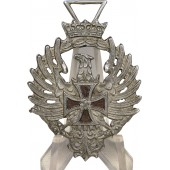 Commemorative badge for Spanish volunteers from the Blue Division