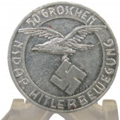 NSDAP  Donation coin