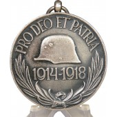 The Austro-Hungarian commemorative medal in memory of WW1