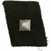 SS-Unterscharführer left rank collar tab moleskin cloth made