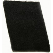 Tunic removed SS-VT or Waffen SS felt made rank tab in rank SS-Mann