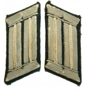Wehrmacht infantry officer collar tabs