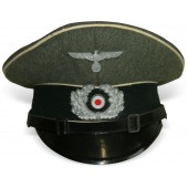 Wehrmacht Heer infantry visor hat for low ranks