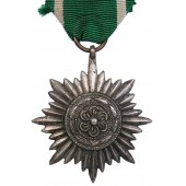2nd class, silver grade of the star for the eastern peoples, without swords