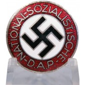 3rd Reich NSDAP member badge, M 1/100 RZM, by Werner Redo
