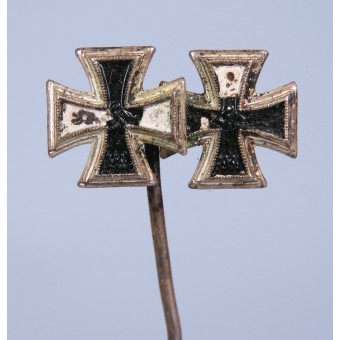 9-mm miniature of the awarding of the Iron Cross of the first and second class of 1939. Espenlaub militaria