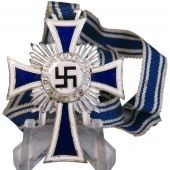 A.Hitler inscribed on the reverse German mother cross, 2 class. Frosted silvering