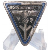 NS Frauenschaft Leader's Badge - Orts Level - Type 2. M 1/3 RZM marked