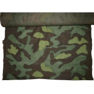 Original Italian camouflage material used by Waffen-SS, M1929 Telo mimetico