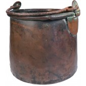 Russian imperial army mess kit, model 1897. Copper
