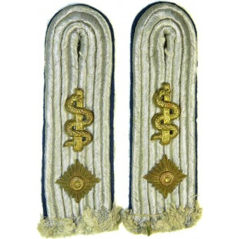 Heeres or Luftwaffe Oberleutnant sew in shoulder boards. Espenlaub militaria