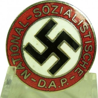 NSDAP member badge, marked M 1/14. Espenlaub militaria