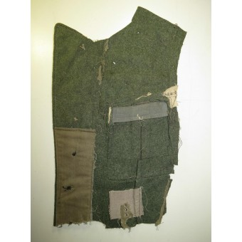 Wehrmacht Heeres M 40 tunic breast part with an eagle. Espenlaub militaria