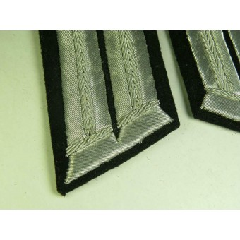 Wehrmacht Heeres pioneer officers collar tabs for parade or walkout uniform. Espenlaub militaria