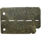 Dog tag - POW camp, Stalag 1 F.