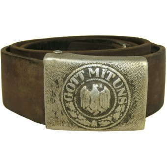 German Wehrmacht Heer belt and buckle RSS. Espenlaub militaria