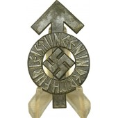 HJ Proficiency Badge – HJ Leistungsabzeichen Silver grade, in zinc. 140828