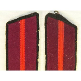 Infantry M 40 Soviet /Red Army NCOs collar tabs for gymnasterka. Espenlaub militaria