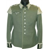 Infantry Waffenrock - tunic in rank Oberfeldwebel in Musician unit- Musikzug in Wehrmacht Heer - German Army