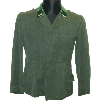 Luftwaffe administrative official NCOs private purchased lightweight Fliegerbluse tunic for Sonderfuehrer O. Espenlaub militaria