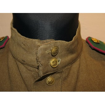 M 43 Gymnasterka for Starchina of Border guard of NKVD. Lend lease wool. Espenlaub militaria